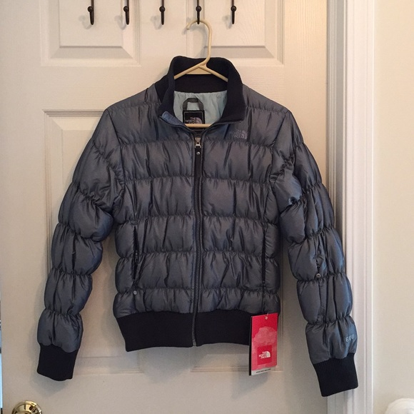 The North Face Jackets & Blazers - NWT North Face Blue/Gray Down Jacket (Women's S)